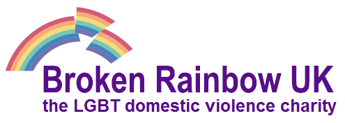 Broken Rainbow Logo with tagline MEDIUM
